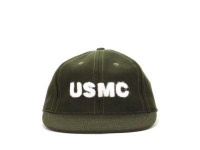 COOPERSTOWN BALL CAP【クーパーズタウン ボールキャップ】'22 USMC CAP *OLIVE/WOOL