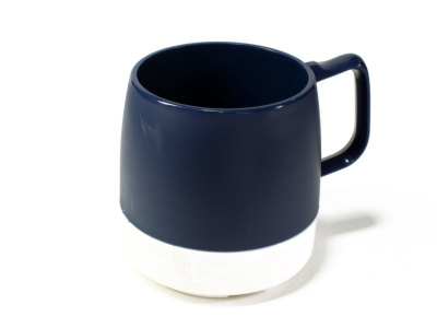 DINEX【ダイネックス】INSULATED CLASSIC MUG CUP 2TONE *M.BLUE/OFF WHITE
